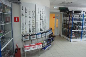 Первый магазин Автохалява в Калуге, интерьер
